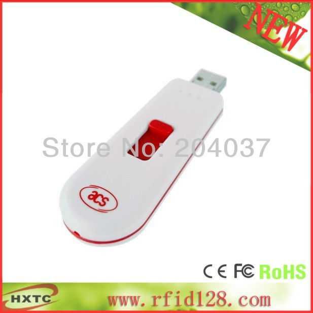 ФОТО Portable 13.56MHZ RFID Contactless NFC Smart IC Card Reader Writer ACS ACR122T Support ISO 14443 Type A B Card  Free Shipping
