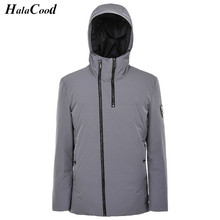Hot Sell High Qualit Men's Parkas Autumn Winter Duck Down Jacket Hooded Male White Duck Down Coats Fashion Men's Winter Jackets