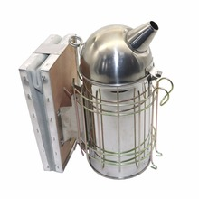 Beekeeping-Tools Round And 301 Head-Drive Drive-The-Bees Bee-Somker Stainless-Steel Cowhide