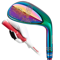 golf wedges for men forged cnc mill colorful right handed 52 56 60 degrees complete set of clubs