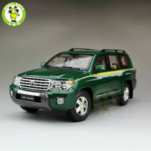 1:18 Scale Toyota Land Cruiser LC200 Diecast SUV Car Model Toys for gifts collection hobby Green(China)