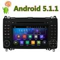 HD 1024*600 Android 5.1.1 Car DVD Player for Mercedes Benz B200 W169 A160 Viano Vito GPS Radio DAB Stereo Quad Core CPU 2GB ROM