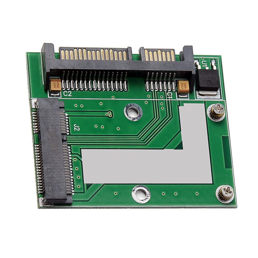 Mini PCI-E MSATA SSD to 2.5 SATA 6.0Gbps Adapter Card SATA3 PCI Express Board