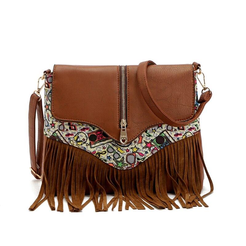Elegant 2016 Vintage Women Bag Leather Handbags Women Messenger Bags Ladies