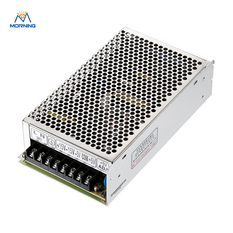 Q-120C  120W regulated DC Quad output switching power supply 5/15/-5/-15V