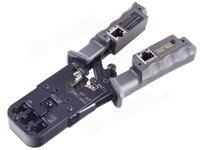Mạng đa chức năng Crimping Công Cụ cho RJ45 Kiểm Tra Crimping Tool với Ratchet Cat6 RJ12 RJ45 RJ50 RJ11 (10P10C/8P8C/6P6C/6P4C)