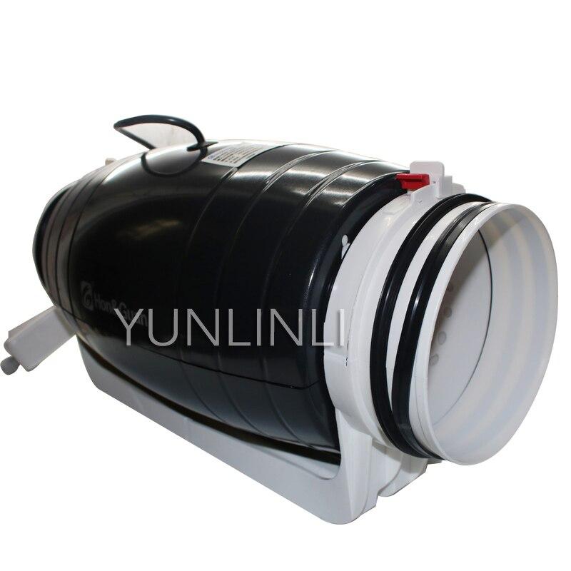 150 сильный ванная комната спальня выхлопных газов дома вентилятор гостиная Mute 6 дюймов низкая шум вентиляция труб машины