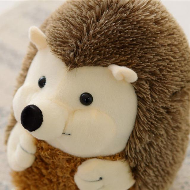 Plush Animals Spike Hedgehog Plush Toys Pillow Soft Stuffed Cute Animal Dolls Simulation Peluches Gifts For Children KidsMR166