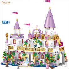 2019 Little Princess Blocks Set Childrens Educational Toys Compatible with Building Brick Children