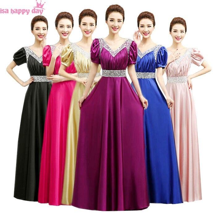 43f8de92570a5be Пастельный розовый невесты скромное платье невесты сестра невесты длинные  ...