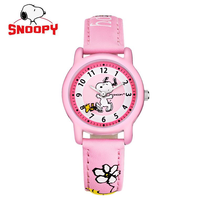 Snoopy watch casual kids watches fashion quartz wristwatches girl watch women watch water for Snoopy watches