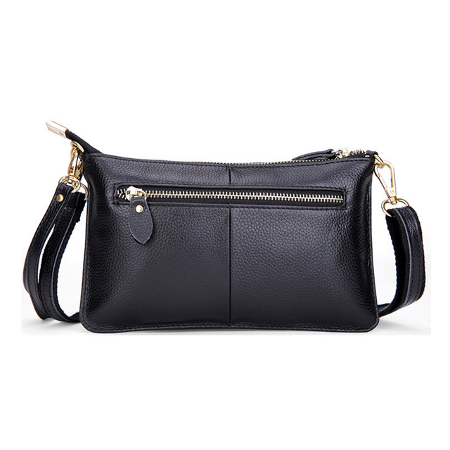 Genuine Leather Women Messenger Bag