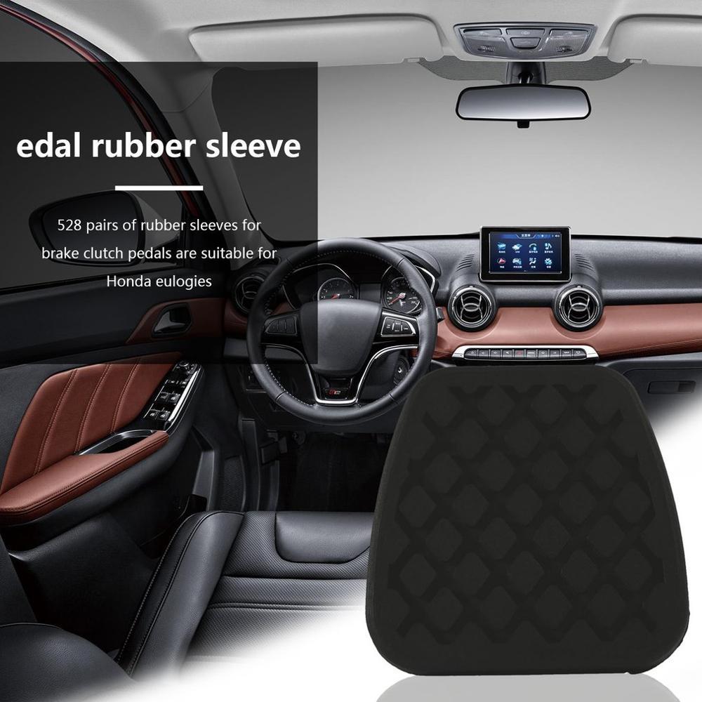 2X Brake Clutch Pedal Pad Rubber Cover Fit Honda Civic Accord CR-V Prelude Acura