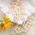 1000pcs Imitation Pearl Beads 8mm Diy Craft Beads Pearls For Decoration Jewelry Making Perolas Para Bijuterias Crafts Materials