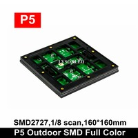 LYSONLED HD LED Video Display Panel P5 Outdoor LED Module SMD2727 160x160mm 32x32 Pixels RGB LED