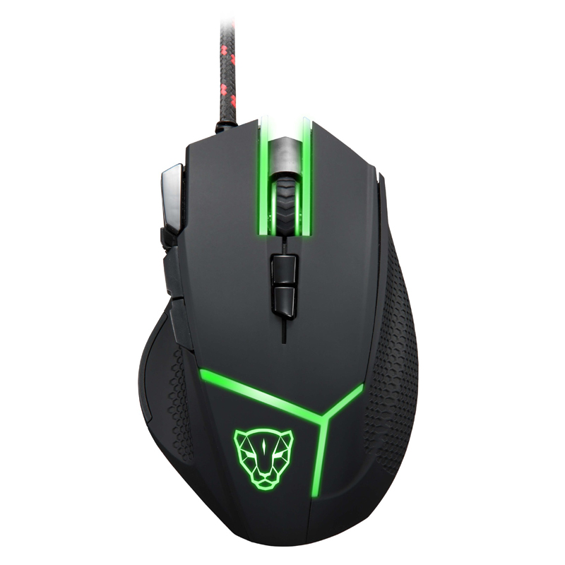 Motospeed V18 Gaming Mouse 4000DPI With LED Breathing Backlight Optical USB Wired Game Computer Mouse For Laptop PC Gamer маунт леопард motospeed g7000 wireless mouse
