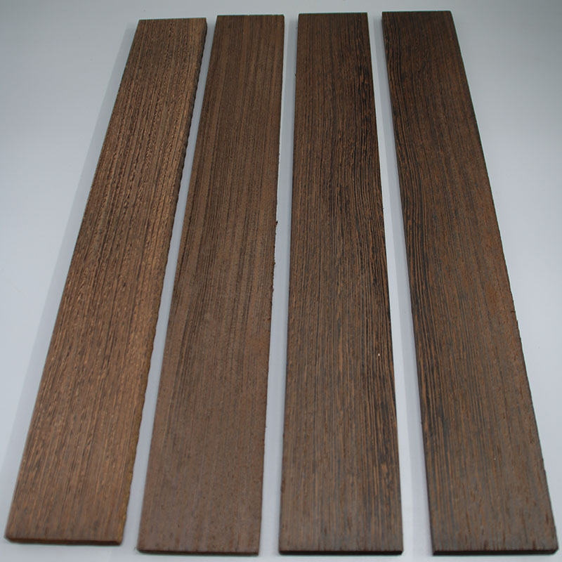 African Wenge Wood Guitar Fretboard Material Guitar Fingerboard Guitar Making Materials Accessories