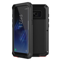 Luxury Doom Armor Dirt Shock Waterproof Metal Aluminum Cell Phone Case For Iphone 7 5 5S