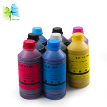 Winnerjet 8 colors X 1000ml water based dye ink for HP Z6100 designjet inkjet 91 vivid color