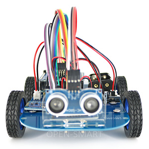 Image 3 - N20 Gear Motor 4WD Bluetooth Controlled Smart Robot Car Kit with Tutorial for Arduino