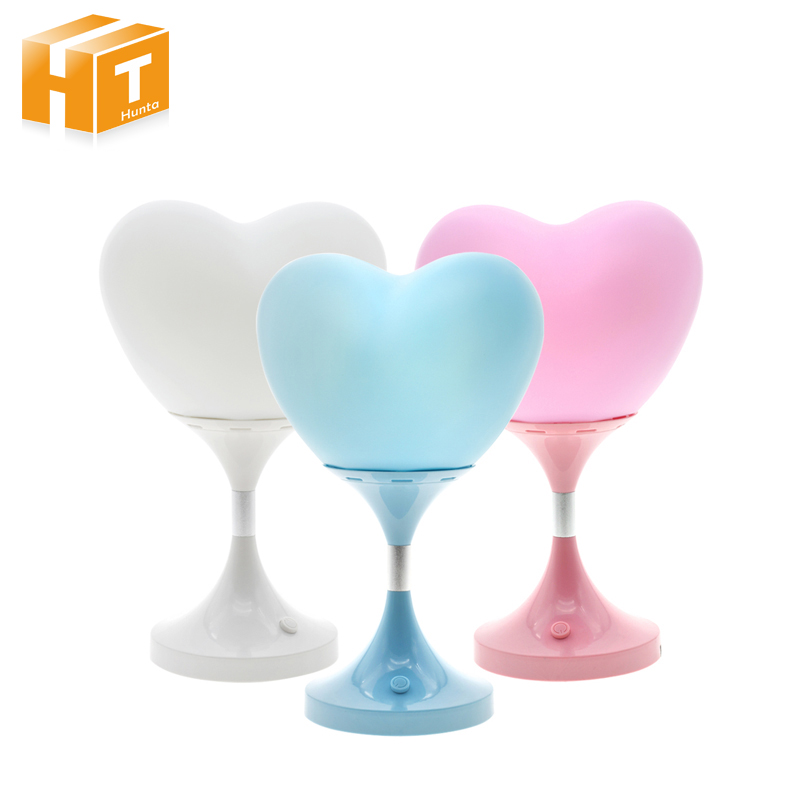 Led Night Light Love Heart Balloon Dimming Light Holiday Novelty Lighting USB Desk Table Lamp Bedroom Reading Light For Kids 3 styles novelty lighting hockey player ice player 3d led night light touch usb lamp holiday gifts table desk light for kids