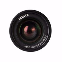 Meike MK EM 25 0.95 Super Large Aperture Manual Focus lens APS C For Canon EF M mount