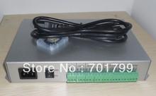1 pièces T-300K T300K carte SD en ligne VIA PC contrôleur de module de pixel led couleur rvb 8 ports 8192 pixels ws2811 ws2801