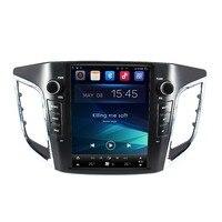 Otojeta вертикальный экран Тесла головных устройств 4 ядра 32 Гб встроенная память Android 7,1 Автомобильный мультимедийный gps радио плеер для hyundai