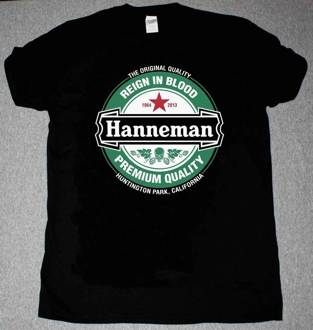 JEFF HANNEMAN TRIBUTE T SHIRT SLAYER Mans Unique Cotton Short Sleeves O-Neck T Shirt Discount 100 % Cotton