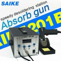 SAIKE 201B всасывания олова пистолет паяльной станции Электрический вакуумный оловоотсоса припоя Sucker вакуумные поглощают удаления олова инстр