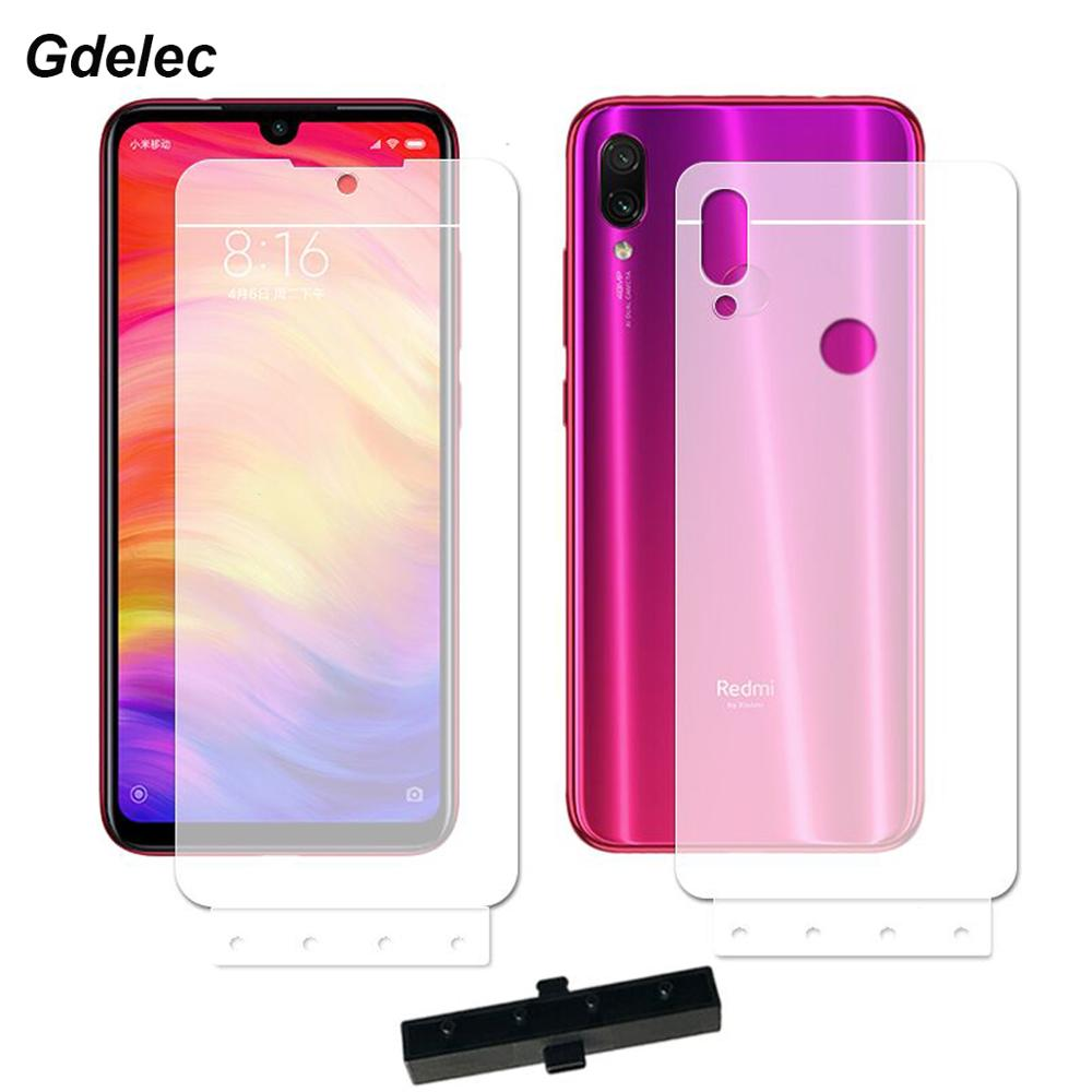 2PCS Front+Back TPU Screen Protector For Xiaomi Mi 9 Se Mi 8 Se Lite Pro Mix 2 2s Max 2 3 Redmi Note 7 Full Cover Hydrogel Film