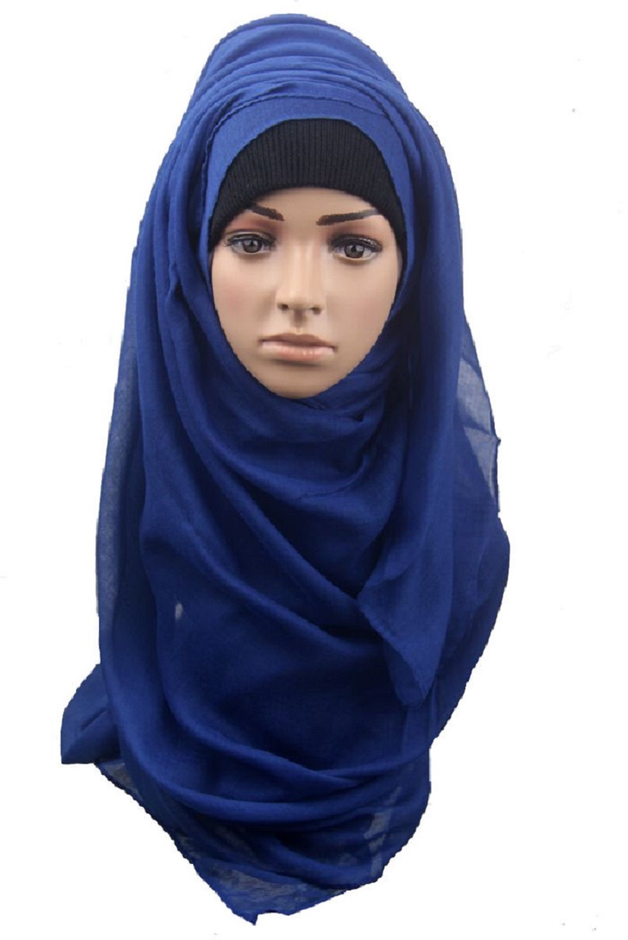 What is the Muslim female head covering called?