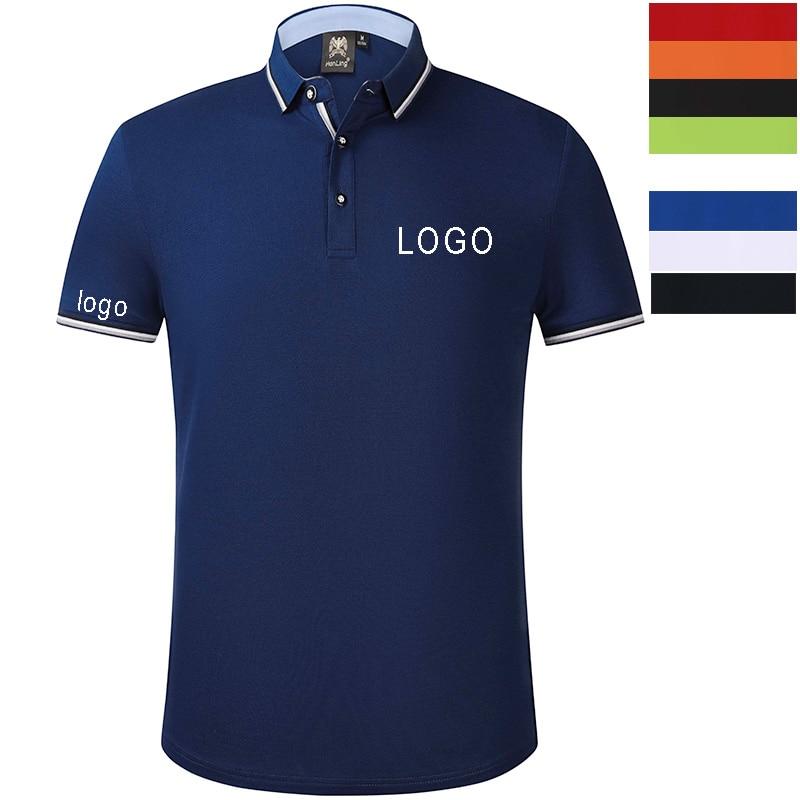 Custom embroidery polo shirt, embroidered business Shirt Uniform Workwear custom