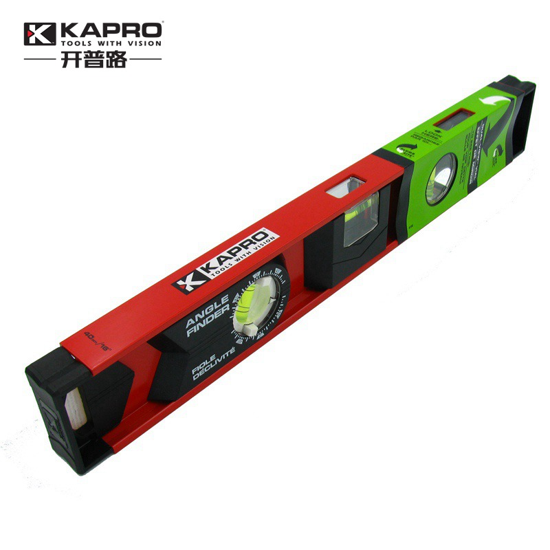 KAPRO High Precision 360 Degree Rotating Aluminum Alloy Bubble Level Ruler 40cm цена
