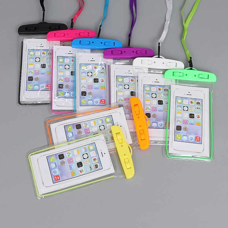 Universale Della Copertura Della Cassa Del Telefono Impermeabile Per Samsung Galaxy S8 Swim Impermeabile Per il Caso di iPhone X XS MAX 8 5 5s Coque Cassa Del Sacchetto Del Sacchetto