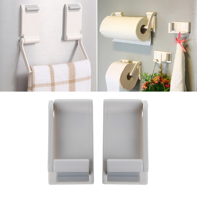 Adjule Toilet Paper Holder Magnet Towel Rack Roll For Refrigerator Kitchen Bathroom Accessories M15