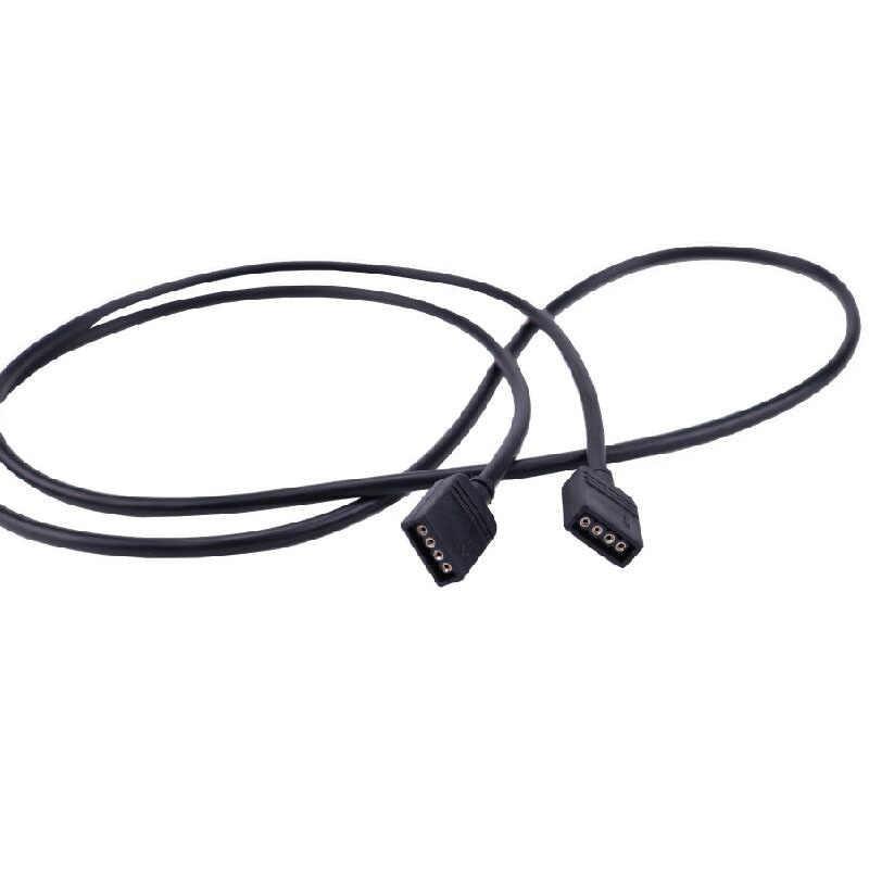 Hembra de 4 pines conector extender Cable RGB divisor 1to1 1to2 1to3 1to4 para 3528 RGB LED 5050 luces de tira de la lámpara cambio de Color