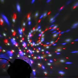 Хрустальный Магический поворотный шар сценический светодио дный светильник светодиодный свет атмосфера лампа м 4 м USB KTV DJ свет светодио