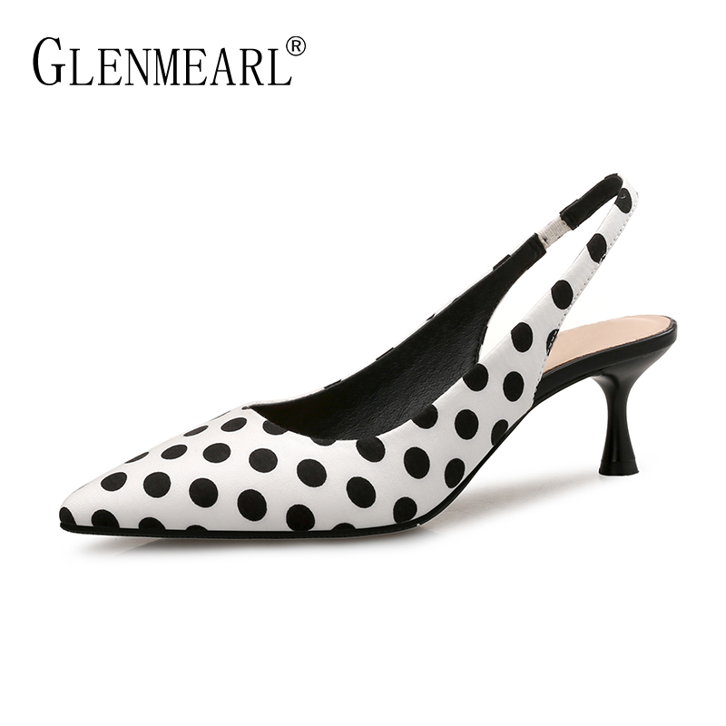Brand Women Pumps High Heels Shoes Leather Spring Wave Point Single Women Dress Shoes Thin Heels Pointed Toe Party Pumps Lady 45 hot sale watchband high quality leather watch accessories for women 14 15 16 17 18 19 20 21 22 23 24 mm strap belt free shipping