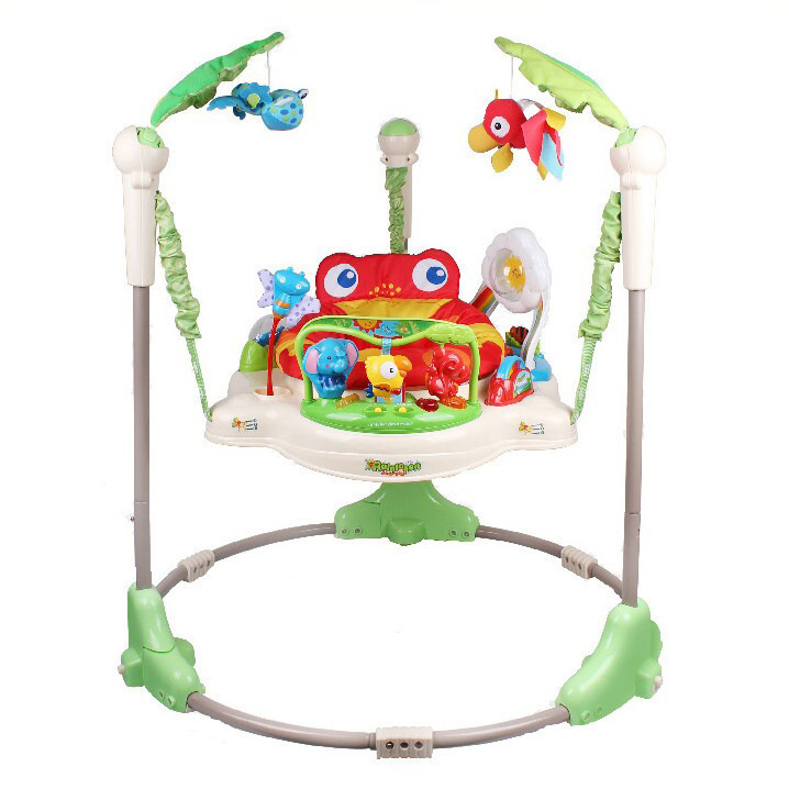 e4bd40ae9e0f Piano Baby Bounce Woodland Friends First Steps Jumperoo Baby Jump ...