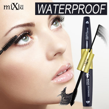 3d Fiber Mascara Mixiu Professional Brand Makeup Set Lengthen Eyelashes Women Black Mascara Maquiagem Waterproof Mascaras Rimel