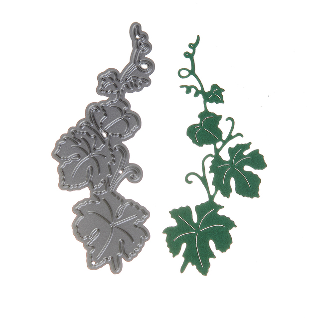 1pcs 8cm Metal Steel IHS Christian Plant vines Cutting Dies Stencil For DIY Scrapbooking Album Paper Card Photo Decorative Craft