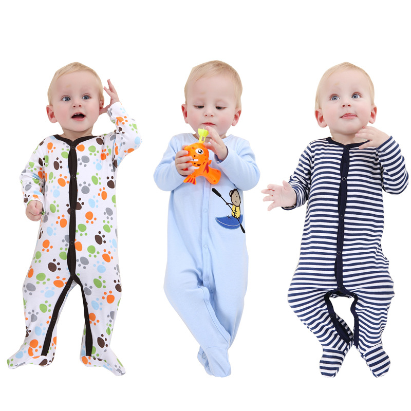 27db0c0108bc 3pcs Baby Boy Clothes Newborn Baby Girl Romper Jumpsuit 100% Cotton  Underwear Clothing Comfortable Climbing 0-12m Winter Clothes -  aliexpress.com - imall. ...