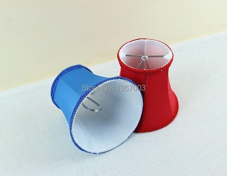 Rot, blau, grün moderne lampen mit stoff lampenschirme, kronleuchter ...