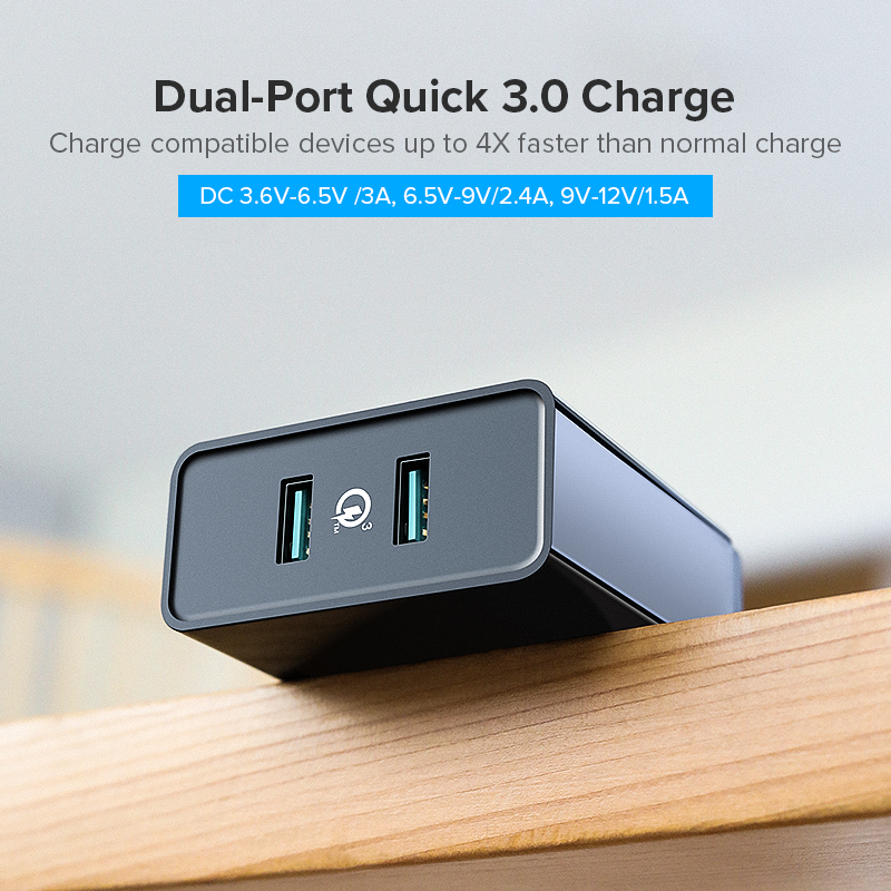 Image 2 - Ugreen Fast Charger Quick charge 3.0 QC 36W USB Charger for iPhone QC3.0 Wall Charger for Samsung s10 Xiaomi mi 9 Phone Charger-in Mobile Phone Chargers from Cellphones & Telecommunications