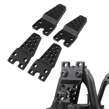 INJORA 4PCS RC Car Aluminum Shock Absorber Tower Lift Lower Adjust Stand for 1/10 RC Crawler Axial SCX10 Upgrade Parts