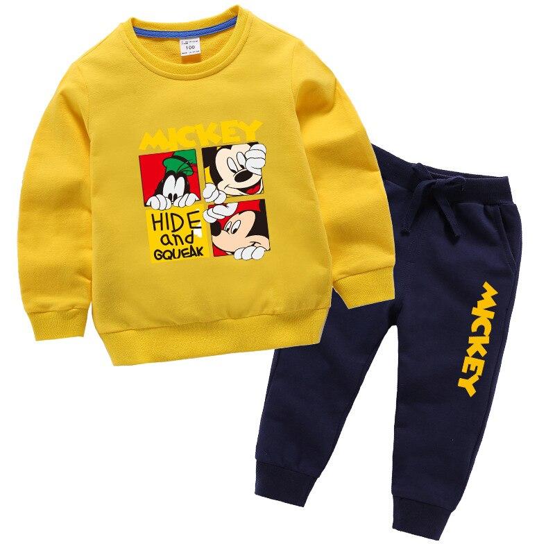 Autumn Winter Warm Jackets For Girls Coats For Boys Jackets Girl Jackets Kids Cartoon Mickey Outerwear Children Baseball Uniform 2