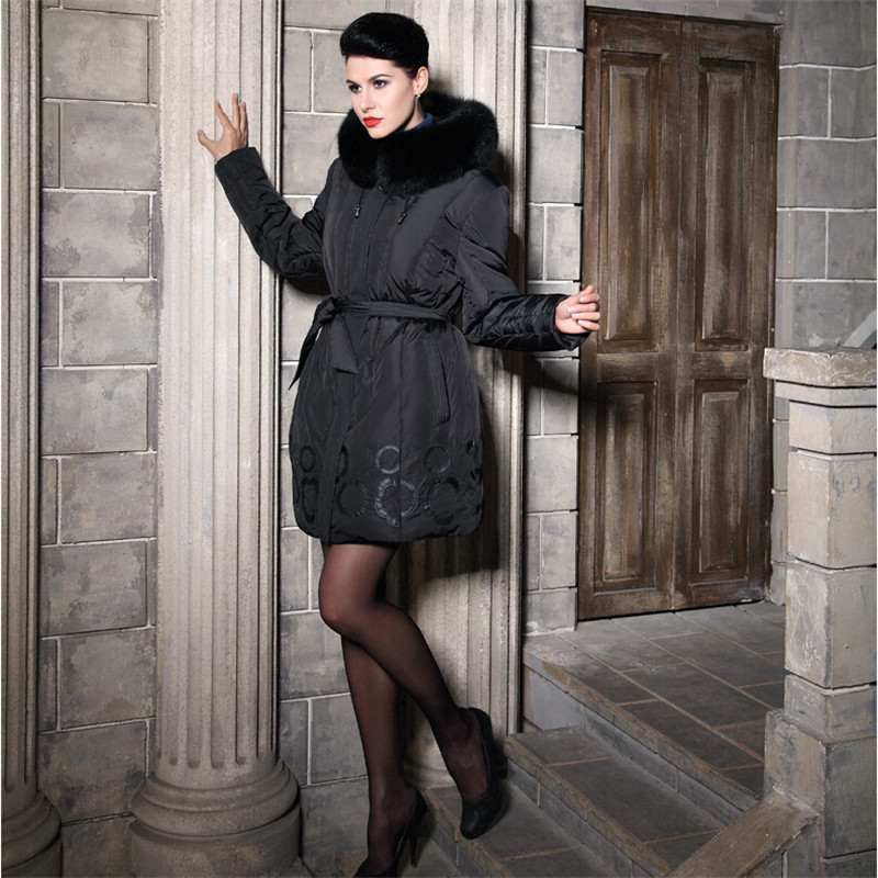 Popular Knee Length Down Coat-Buy Cheap Knee Length Down Coat lots ...