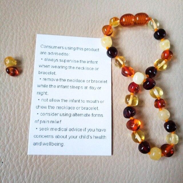 Bracelet D'ambre Pour Bébé