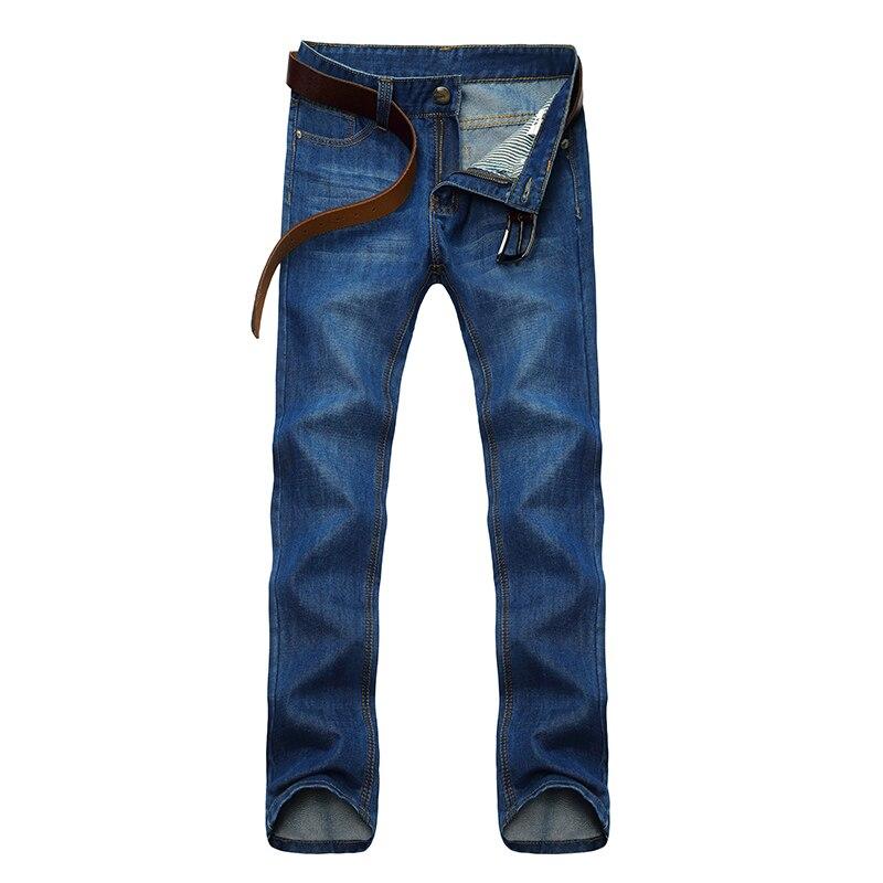 Los hombres de color sólido recto Vaqueros nueva primavera y verano Denim  Pantalones casual tamaño 28-38 b4d6d298deb